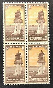 New-Zealand-Life-Insurance-Lighthouse-Stamps-SG-L47-1947-MNH-AF107