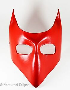 image is loading red devil leather mask lock nightmare before christmas - Lock Nightmare Before Christmas