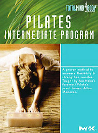 Pilates Intermediate Program By Allan Menezes DVD, 2004 New - $4.95