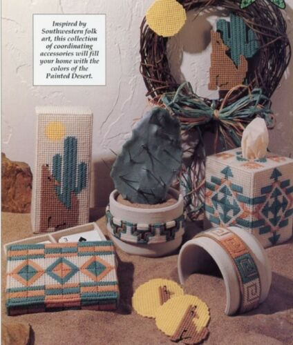 Southwestern Accents Indian Coyote Plastic Canvas PATTERN//INSTRUCTIONS//NEW