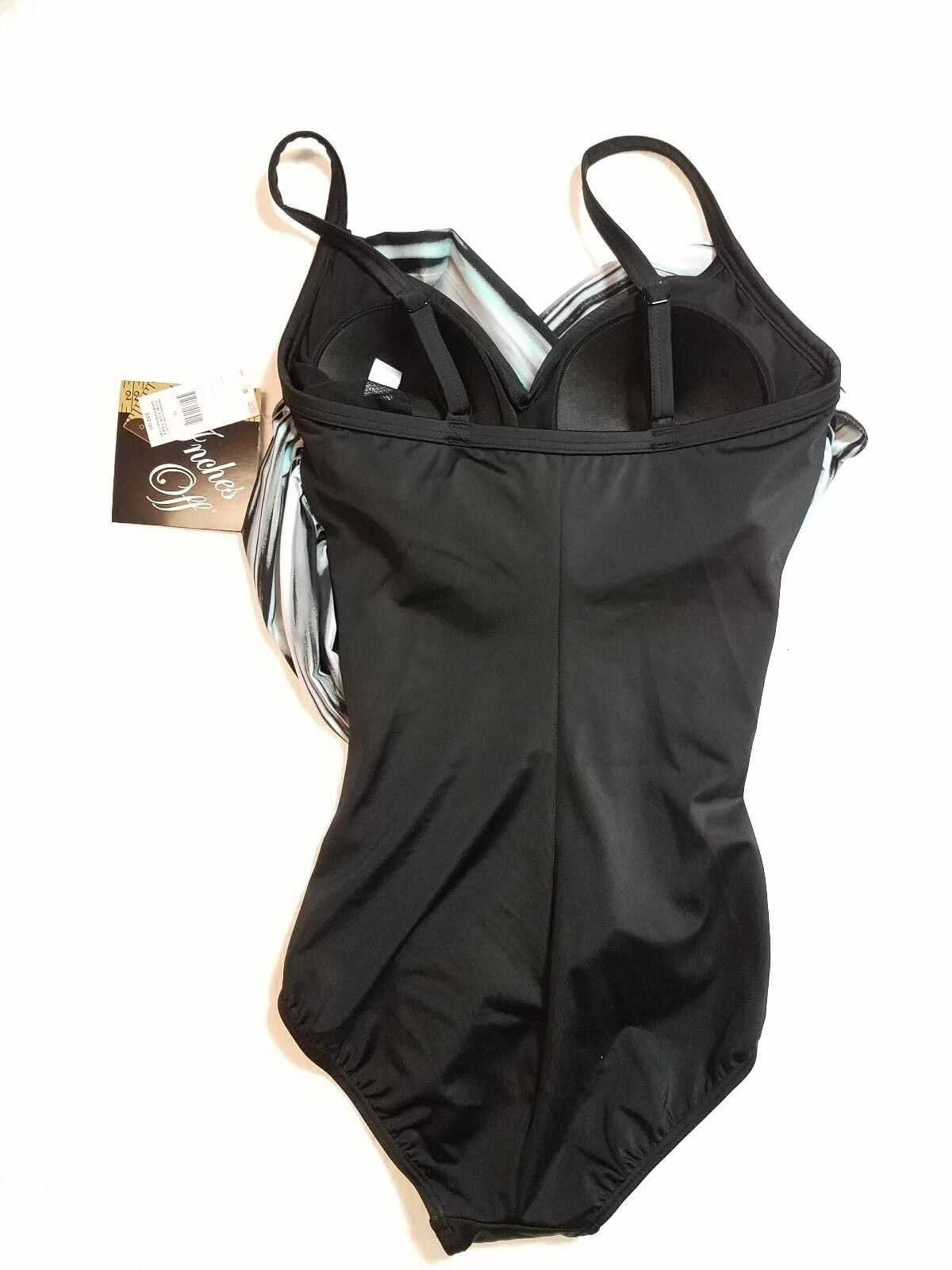 NEW WOMENS TROPICAL ESCAPE INCHES OFF OFF OFF ONE PIECE SWIMSUIT SIZE 8,10 NWT  92 a53a53
