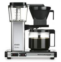 Moccamaster Kbg 741 Ao Aluminium Poliert Kaffeemaschine