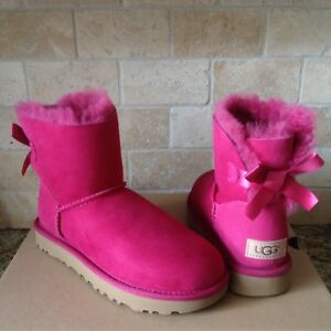 red violet bailey bow uggs