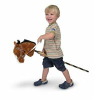Melissa And Doug Deluxe Gallop-n-go Stick Pony W/sound , New, Free Shipping on sale