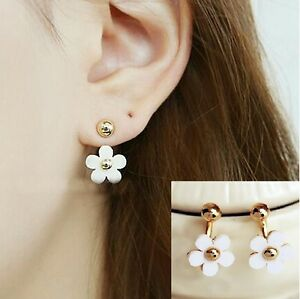 double gold find at sided ball earrings refined stud buy