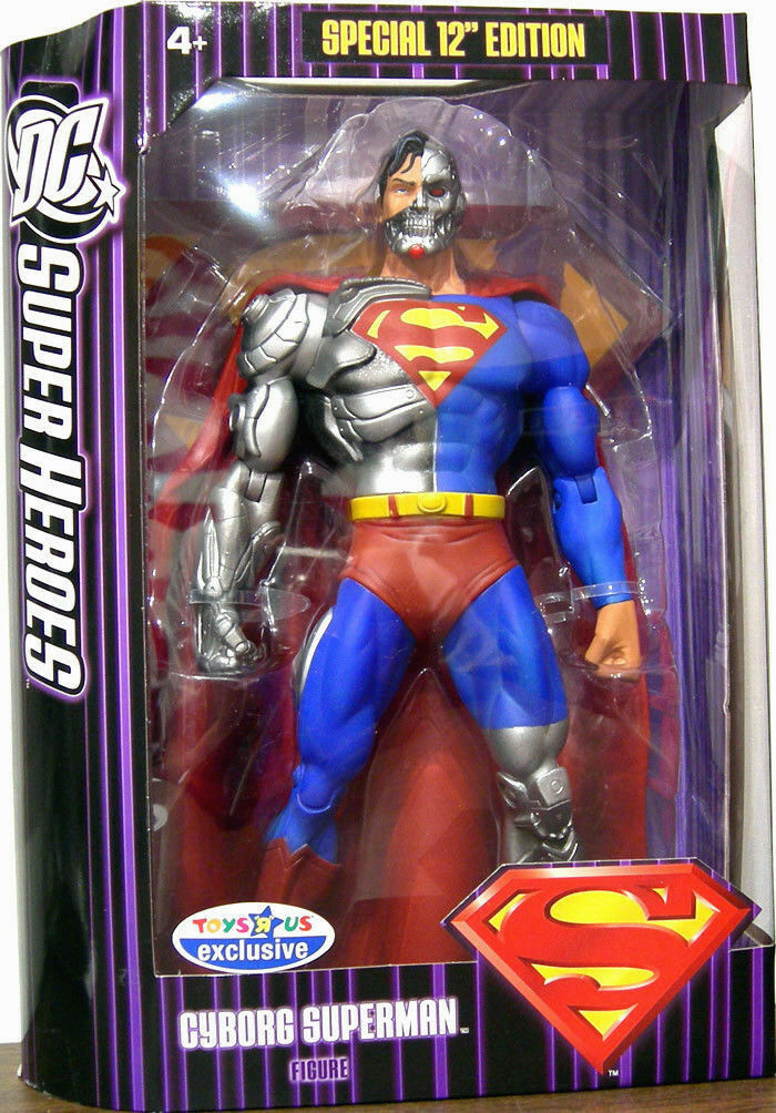 DC Super Heroes Collection_CYBORG SUPERMAN 12   figure_Exclusive Limited Edition