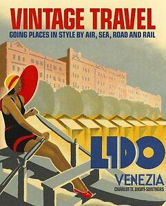 Lido-Venezia-europe-Vintage-Illustrated-Travel-Poster-art-Print-painting-canvas
