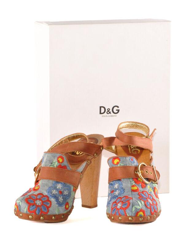 Original DOLCE  GABBANA Damen Damen GABBANA Leder Pumps, Schuhe, Gr. 36, 37, 40 NEU mit OVP 732997
