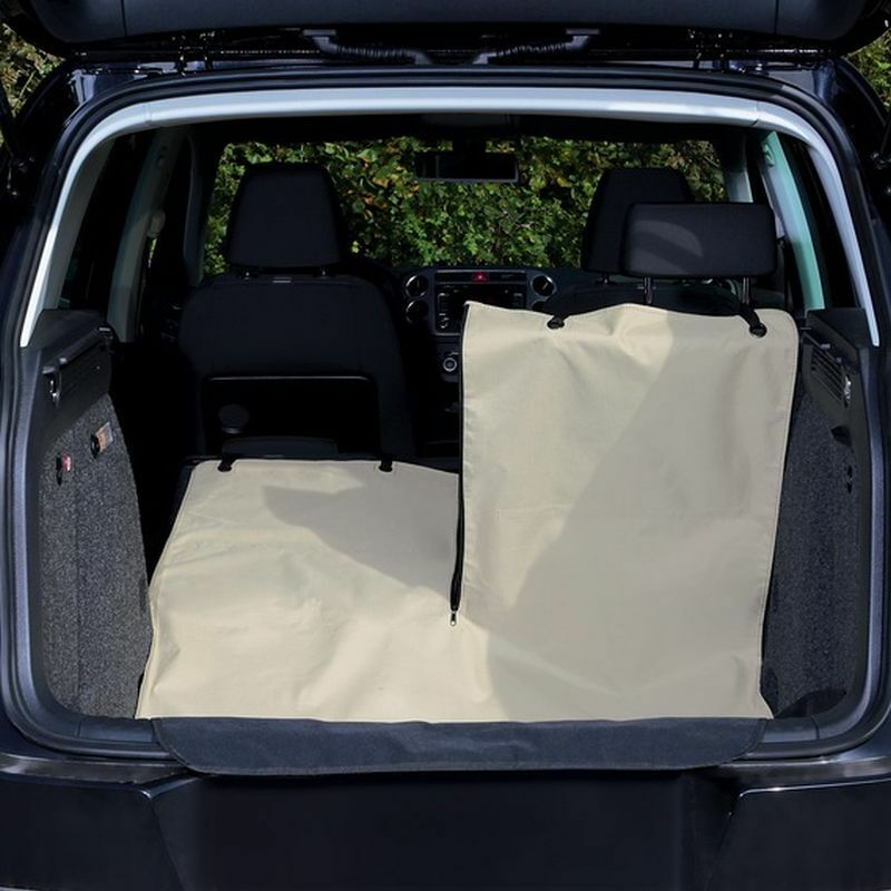Universal Water Repellent Car Boot Cover Easy Fitting with Bumper Predector