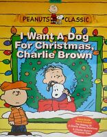 I Want A Dog For Christmas, Charlie Brown Dvd,new Free Ship Peanuts ,children