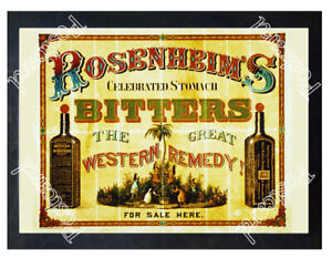 Historic-Rosenheim-039-s-stomach-bitters-Advertising-Postcard