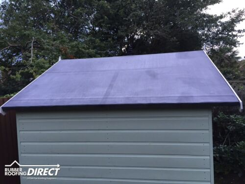 EPDM Rubber Roofing Kit For Shed Roofs Multiple Sizes ...