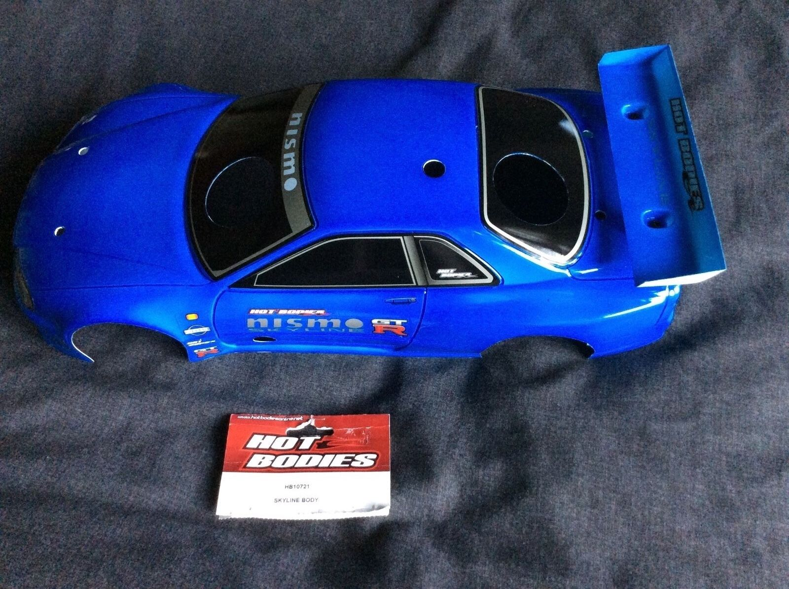Nissan Skyline GTR, HB10721 Model Car Bodyshell,Painted and Trimmed,200mm NIP