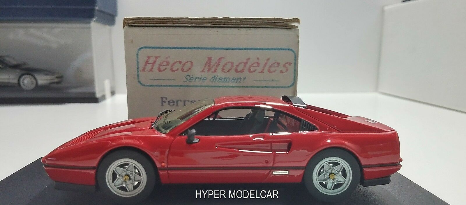 HECO MODELES 1 43 Ferrari 328 GTB 1987 rouge Art. 153 - no bbr