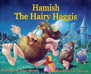 Hamish-the-Hairy-Haggis-Lomond-A-K-Paterson-Very-Good-Book