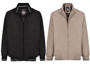 5a376c42052d9 NEW Mens Men s Big Tall Summer Harrington Water Resistant Jacket 2XL ...