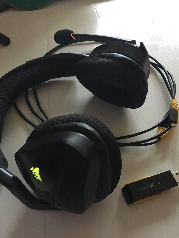 headset hovedtelefoner, Andet mærke, Wireless Corsair