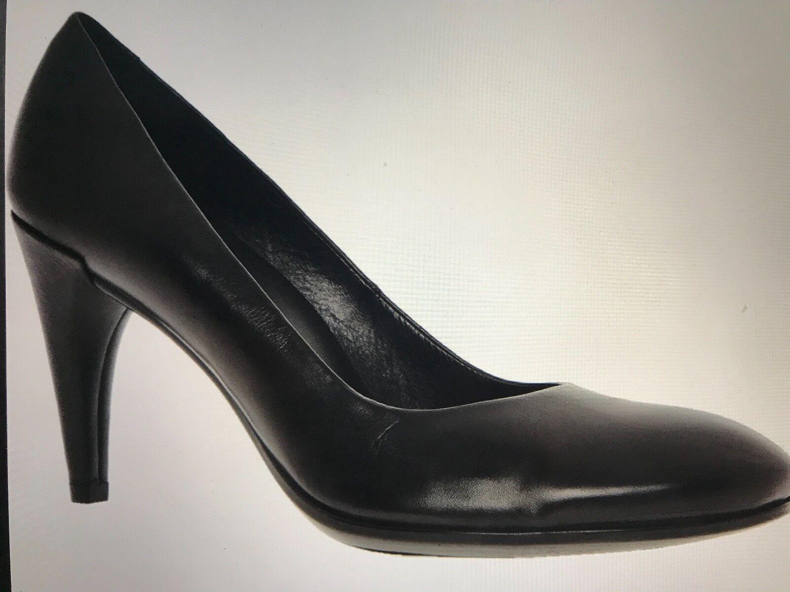 Ecco Danish style Größe 6 / / 6 39 schwarz Leder heeled schuhe fdbc4c