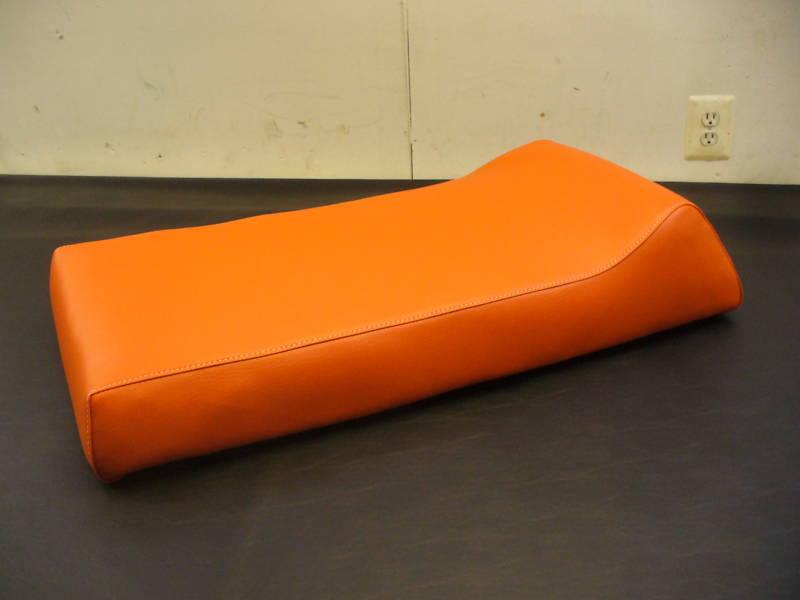 72-73 JOHNSON RAMPAGE orange SNOWMOBILE SEAT COVER