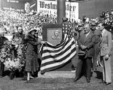 1932 YANKEES STADIUM & Miller Huggins Monument Glossy 8x10 Photo Print Poster