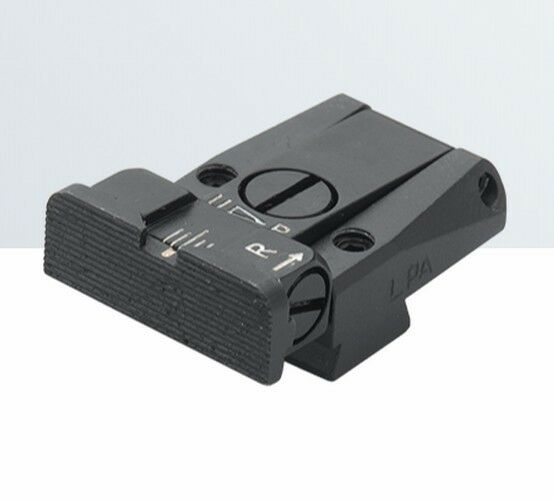 LPA rear sight for Tanfoglio EAA, Jericho, P9 (Springfield)