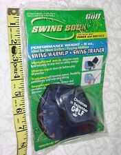 NEW SWING SOCK INC WEIGHT FOR IRONS WEDGES 8 OZ GOLF TRAINING AID PRACTICE