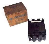 Gould Ite Ef3-b015 Molded Case Circuit Breaker 600vac 15a Ef3b015