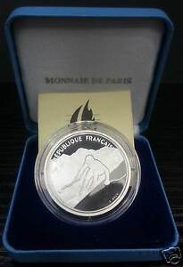 Jo Albertville Be 100 Francs Silver Skier Alpine 1991