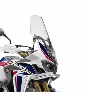 genuine honda 2016 africa twin tall windscreen windshield. Black Bedroom Furniture Sets. Home Design Ideas