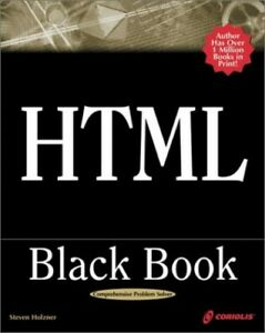 HTML-Black-Book-Little-Black-Book-by-Holzner-Steven-Mixed-media-product-Book