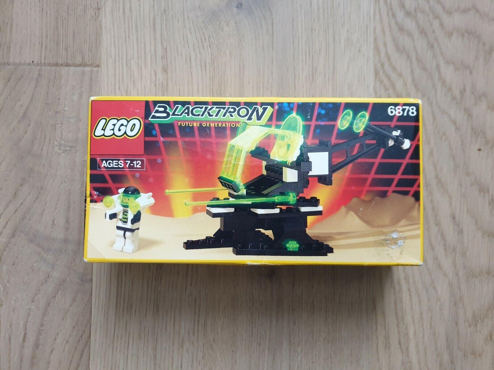 NOS LEGO 6878 schwarzTRON II VINTAGE COLLECTIBLE (1991) SUB ORBITAL GUARDIAN