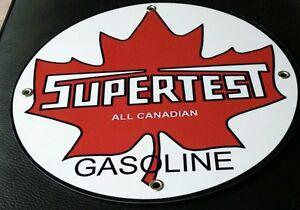 Supertest Gas Oil Gasoline Sign Round Lvnuuepo-08000907-617914345
