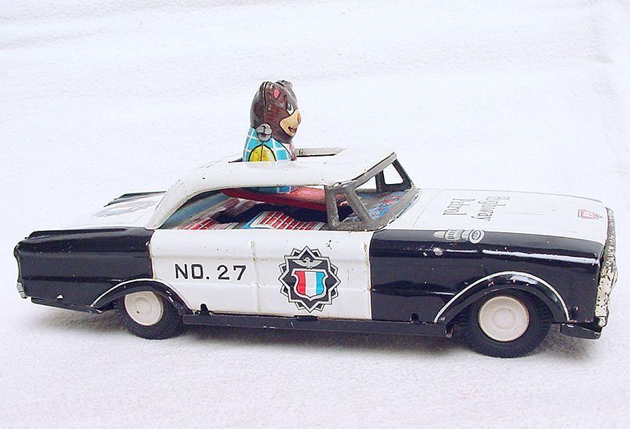 Japan 1 28 ford falcon nicht schlucken die highway patrol zinn reibung auto nm ` 65 selten