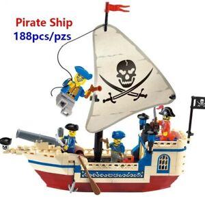Lego-Pirate-Bateaux-Jouet-Enfant-Tresor-Navire-Cadeau-Noel-jeux-construction
