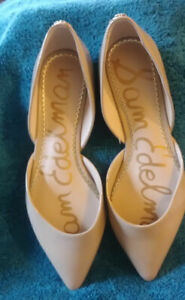 Sam Edelman Patent Leather D'orsay nude