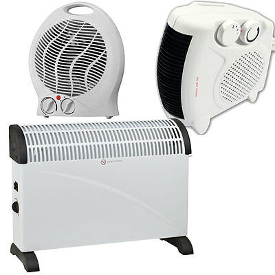 Wall Mounted Oil Filled Radiator >> 2000W PORTABLE CONVECTOR THERMOSTAT SILENT ELECTRIC FAN ...