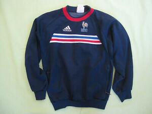 professional sale pretty cool various colors Détails sur Sweat Adidas Vintage Equipe de France FFF Vintage Jersey Enfant  - 12 ans