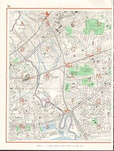 image is loading 1964 vintage london street map plaistow canning town