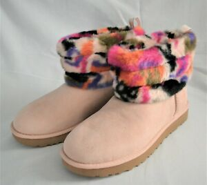 UGG Women's Fluff Mini Quilted Motley