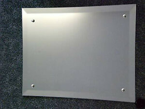 Image Is Loading Frameless Bevel Edge Wall Mirror 60cm X