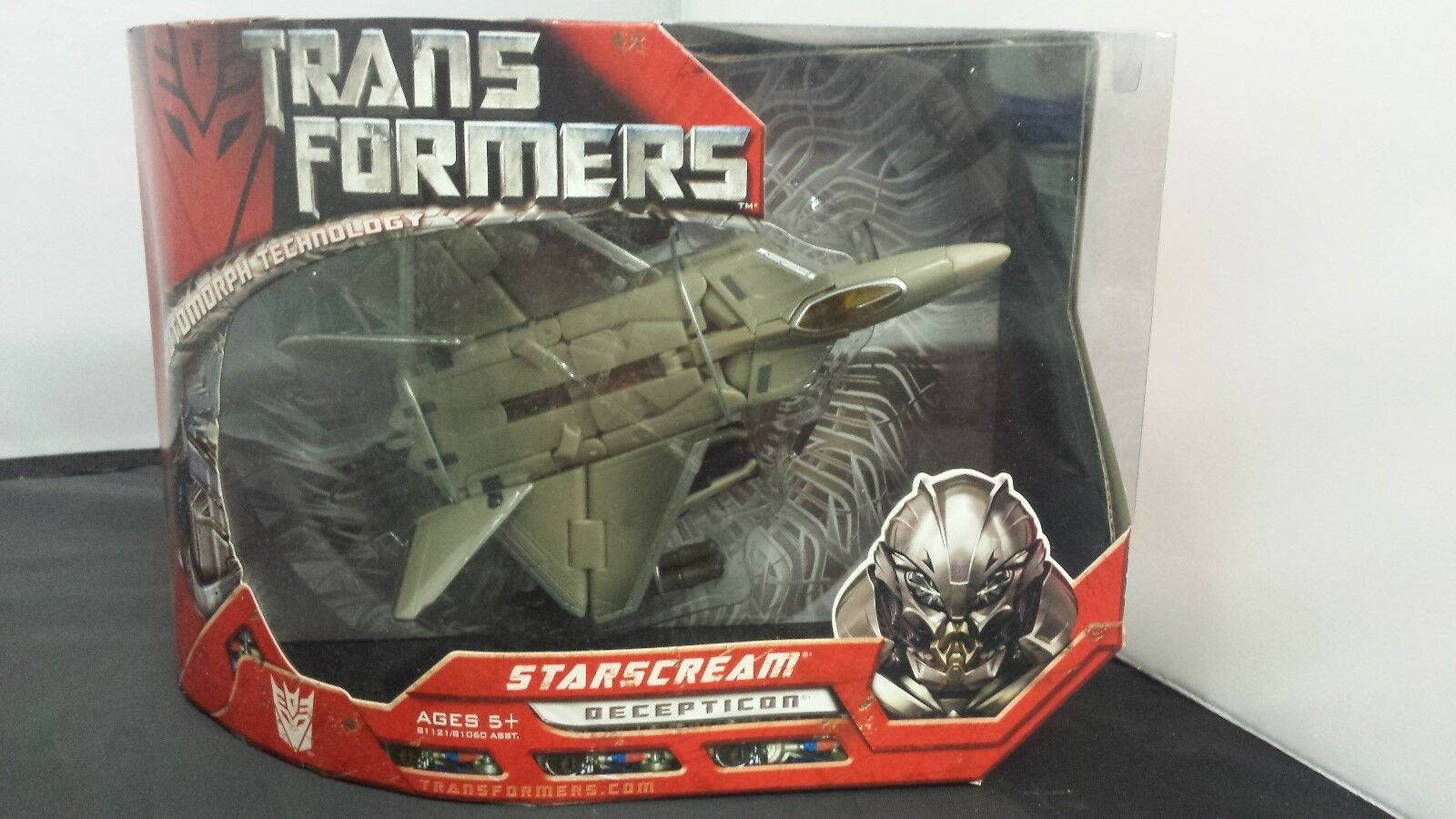 Transformatoren starscream decepticon hasbro 2006 neu in versiegelten kiste