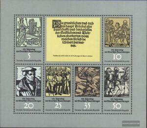 DDR-2013-2018-Kleinbogen-kompl-Ausgabe-gestempelt-1975-Bauernkrieg
