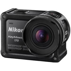Nikon KeyMission 170 Degree Action Camera Brand New Agsbeagle