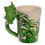 thumbnail 69 - Animal Shaped Handle Ceramic Mug Tea Coffee Cup Novelty Gift Jungle Tropical