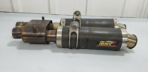 03-04-05-06-DUCATI-749-MIVV-GP-CARBON-FIBER-EXHAUST-PIPE-MUFFLER-SLIP-ON