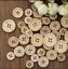 Lots-50-Pcs-DIY-4-Holes-Mixed-Wooden-Buttons-Natural-Round-Sewing-Scrapbooking thumbnail 2