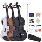 ammoon 4/4 Electric Violin with Bow Hard Case Tuner Shoulder Rest Rosin String