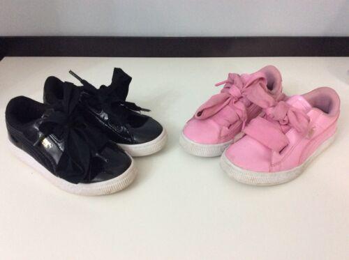 2x X 1x Infant Taille Rose Puma Trainers 12 Bundle 1 Noir 31 Uk qgnECnx