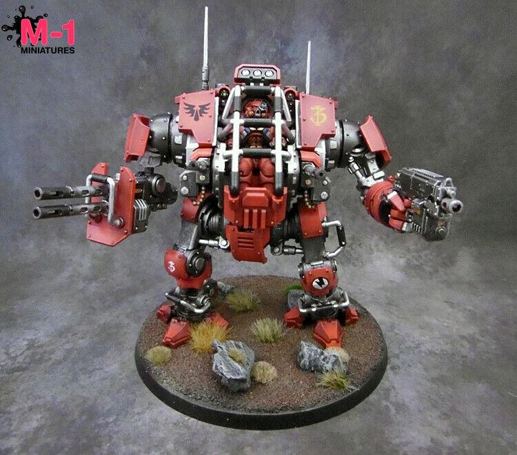 Warhammer 40k Blood Angels Invictor DrossonDovrebbero M1 verniciato