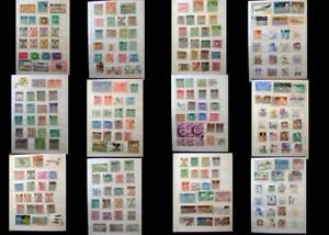 World Stamp Collection India Pakistan Bahawalpur & United States, Free Shipping